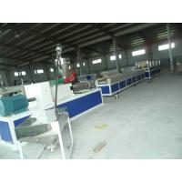 China Twin Screw Extruder With High Quality Mold PVC Plastic Profile Extrusion Line on sale