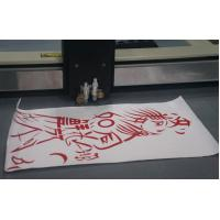 Quality Flatbed adhesive sticker digital cutter plotter kiss cutting half cutting for sale
