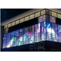 Quality 1000x500mm 1/16scan 32768 Flexible LED Curtain Display for sale