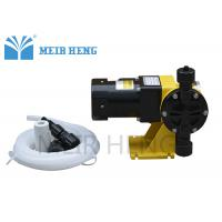 Quality Chlorine Chemical Electric Diaphragm Pump Digital Single Or Three Phase High Accuracy for sale