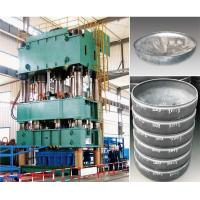 Quality Vertical Hydraulic Press Machine 1000 Ton For Max 1000 Mm Round And Ellipse Dish End for sale
