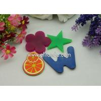 Quality Cheap single color blue green red color alphabet star flower different kinds of shape fridge magnets for promotion for sale