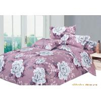Quality floral bedding sets with microfiber material for sale