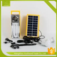 Best BN-9829R Rechargeable LED Camping Lighting Solar System wholesale