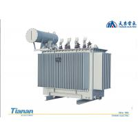 Quality 10 - 35 KV Oil Immersed Distribution Transformer 20 KV Three Phase Copper Winding for sale