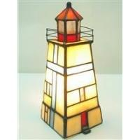 Quality TLC00028 many types tiffany Lighthouse series desktop decoration table lamp for sale