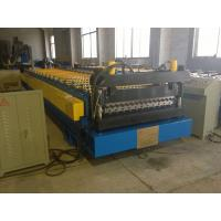 China High Speed Corrugated Wall And Siding Panel Roll Forming Machine , Metal Wall Siding  Sheet Making Machine on sale