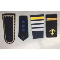 Best Pilot Epaulettes Captain Shoulder Boards Rank Insignia Sliders in Civil And Military Aviation wholesale