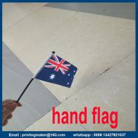 Buy cheap Printing Polyester National Hand Flag from wholesalers