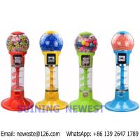 China Tabletop Desktop Mini Coin Operated Gumball Capsule Toy Vending Machine on sale