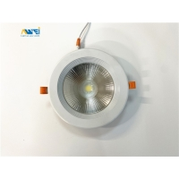 Quality 20W 30W SMD 5730 LED Round Ceiling Recessed Downlight for sale