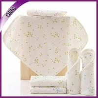 Quality high quality cotton bamboo baby wash cloth with printing washcloths china manufacturer for sale