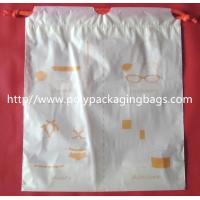 Quality Small Packaging Poly Bags , Drawstring Pouch Bags 2 Colors Gravure Printing for sale