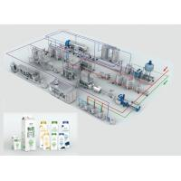 Quality 2000kg Dairy Processing Line and Milk Fat Processing Equipment for sale