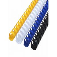"Quality Yellow 3/8"" 365 Sheets 50mm PVC Plactic Comb Binding for sale"