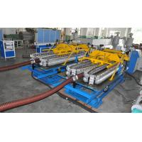 Quality Automatic HDPE Spiral Tube Plastic Pipe Extrusion Line With Single Screw Design for sale