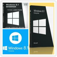 Quality 100% Original Win 8.1 Enterprise Upgrade License For 1 PC Genuine Software for sale