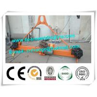 Quality 0.75KW Motor Box Beam Production Line Chain Type Turning Machine For Semi Trailer for sale