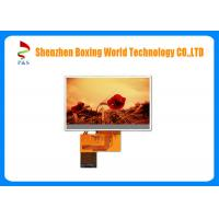 Quality TFT Touch Screen LCD Panel 4.3 Inch 480 ( RGB ) X 272p 500 Brightness for sale