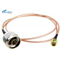 Quality 50ohm WiFi Flexible RF Cable , 2.4g System RF Microwave Cable Assemblies for sale