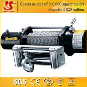 Quality 12v 9000lbs winch wireless remote control 12v 24v for sale