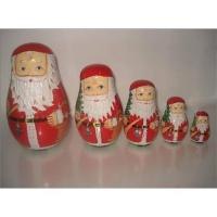 Quality Santa nested doll for sale