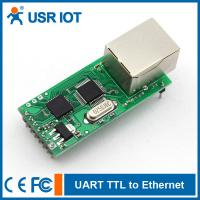 Quality [USR-TCP232-T] RS232 TTL to Ethernet Converter TCP/IP module, support TCP/UDP for sale