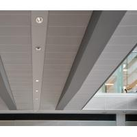 Quality Decorative Perforated  Lay In Ceiling Panels , Waterproof Ceiling Tiles  300x1200mm for sale