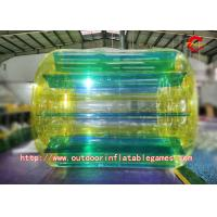Buy cheap PVC Tarpaulin Colour Crazy Inflatable Water Games Inflatable Water Walker Roller from wholesalers