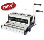 Quality CW2016 CE Electric Binding Machine , Mini Size Office Book Binding Machine for sale