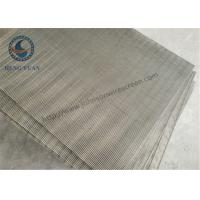 Buy cheap SS 205 / 304 / 316 / Wedge Wire Mesh For FIlter Sieve Screening 0.5mm Slot Size from wholesalers