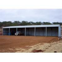 Quality Durable Modular Steel Garage Building Portable Metal Buildings Earthquake Resistance for sale
