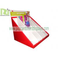 Quality Header phone cardboard display stand point of purchase displays cardboard displays ENCD006 for sale