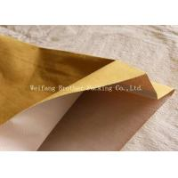 Quality PP Woven Kraft Paper Plastic Composite Bag For Graphite Powder Packing for sale