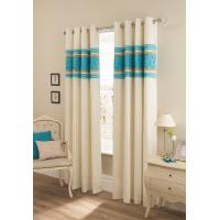 Quality Embroidered Faux Silk Curtain for sale