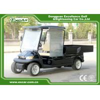 Quality Mobile Electric Food Cart CE Approved With Rear / Side View Mirrors for sale