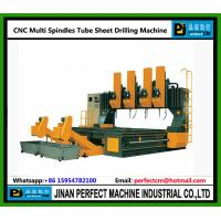 China Multi Spindles CNC Drilling Machine for Tube Sheet / Plate (Model PHD6060-4) on sale