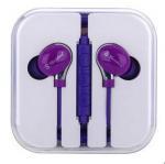 Quality Sports Super Bass Headphone Promotional Headphone Purple Rotatable Earphones for sale