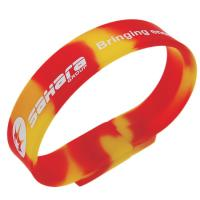 Quality High Quality Siliconewristband usb drives with 512mb 1g 2g 4g 8g for sale