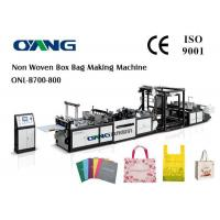 Quality Shopping Bag Automatic Non Woven Bag Making Machine With Ce Certification for sale