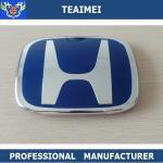 Best Plastic Blue 3D Automotive Badges Emblems , Custom Civic Head Car Emblem wholesale