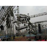 China Advertising Ladder Trade Show Truss , Simple Folding International Truss Systems for sale