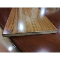 Quality Fast Installation Rectangle Fiberboard Flooring With Glabrous And Smooth Surface for sale