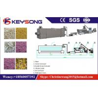 China Twin Screw Artificial Rice Production Line , Golden Rice Production Machine on sale
