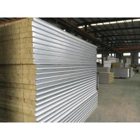 China Prefabricated Rockwool Structural Insulated Sandwich Panels For Walls Grade 1 on sale