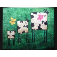 Quality Wood, Masonite Board Cartoon Decorative Paint Handmade Oil Painting ETH104 for sale