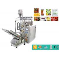 Quality High Speed Automatic Liquid Packaging Machine For Ketchup / Fruit And Tomato Jam 100g 200g for sale