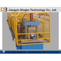 China 50Hz 3 phase Colored Steel Seamless Gutter Machine ISO SGS CE on sale