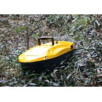 Quality Yellow bait boat gps DEVC-113 Model 6V / 10AH Power Supply 1-2 M/S Sailing Speed for sale