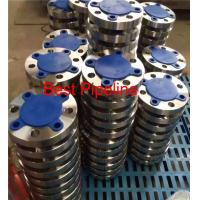 Quality ASME B16.47 Large Diameter Forged Weld Neck Flange  Blind Class 300 Series A 2ASTM A 105 for sale
